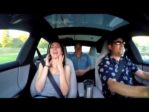 Tesla P85D reactions