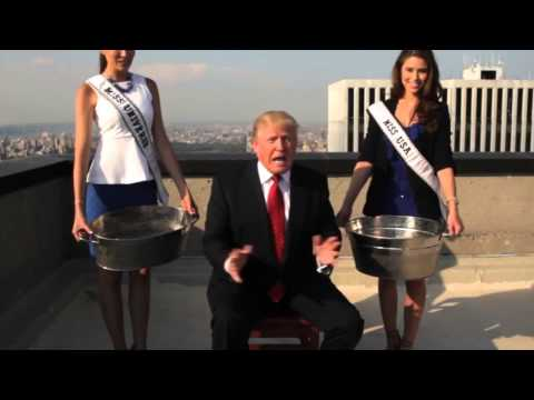Donald Trump ALS Ice Bucket Challenge