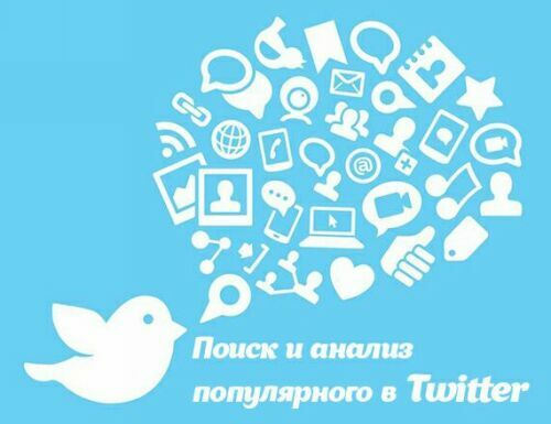 Самое популярное в Твиттере, поиск и анализ