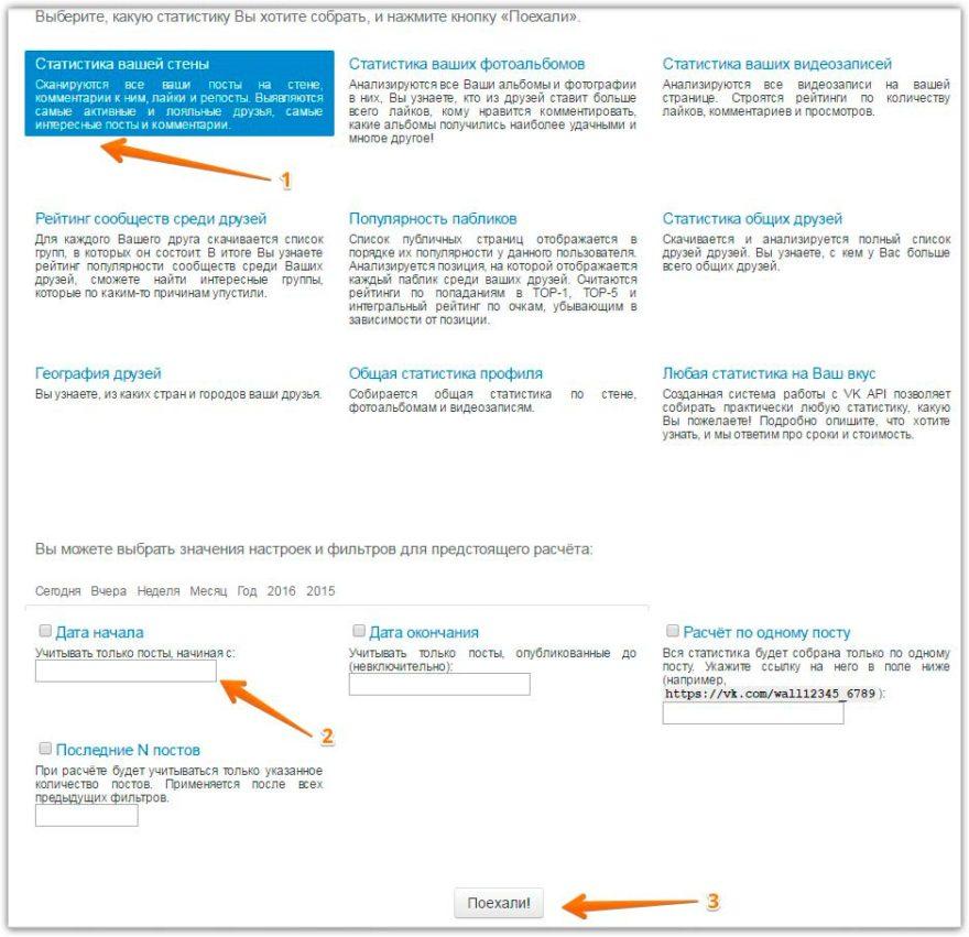 Сервис SocialStats инструмент для анализа сообществ и личных страниц ВКонтакте