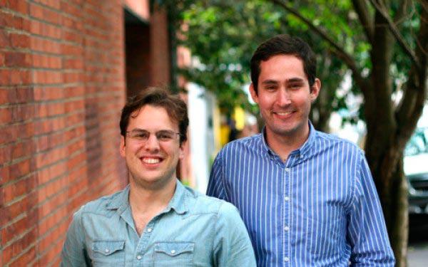 Основатели Инстаграм Кевин Систром и Майк Кригер